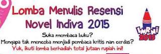 Lomba Menulis Resensi Novel 2015