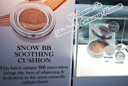 laneige snow bb cream product review