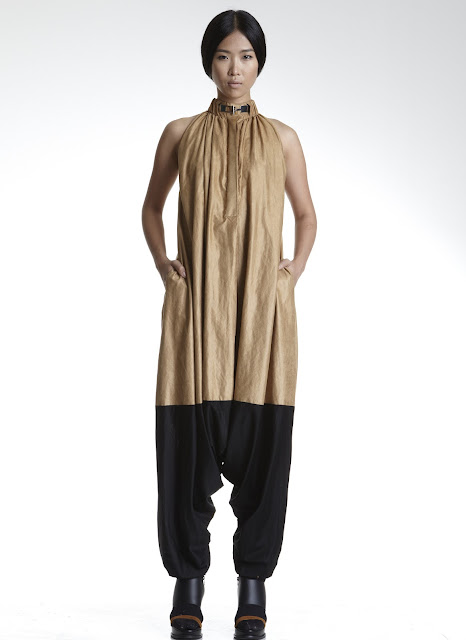 Extreme jumpsuit from Singapore label max.tan's SS13 collection