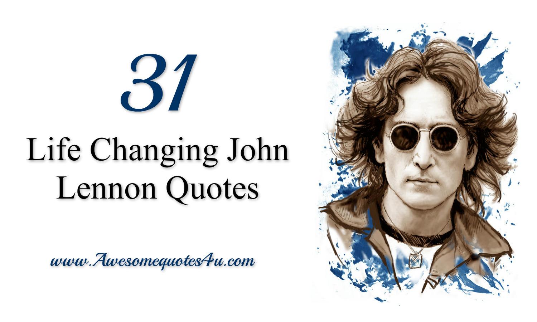 John lennon quotes life