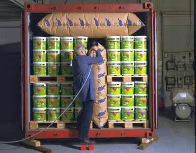 貨櫃防撞袋使用案例