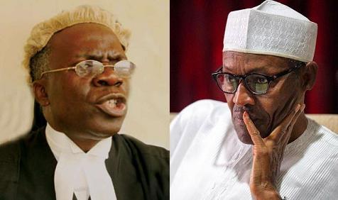 Anti-graft war: Buhari, Falana, disrespecting court; Constitution protects crime suspects