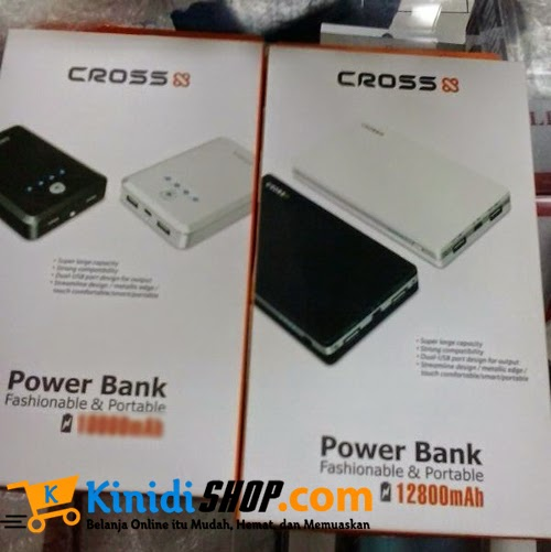 PowerBank Cross 12800 mAh