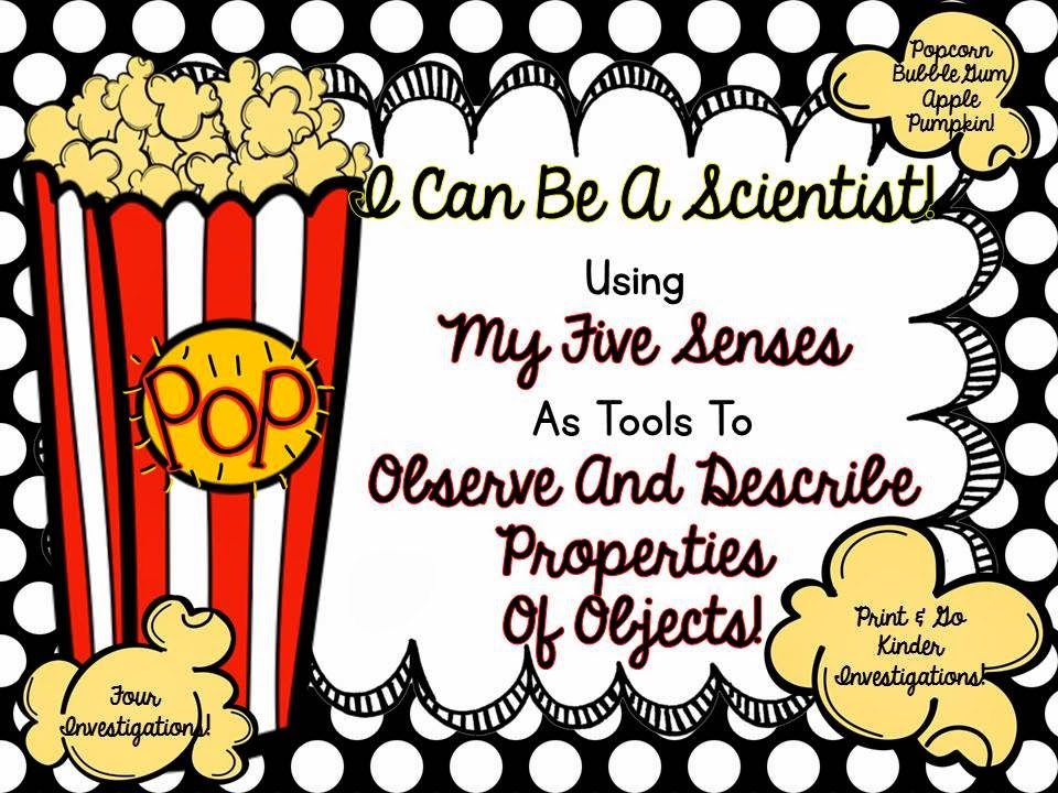 http://www.teacherspayteachers.com/Product/My-Five-Senses-Reports-856566