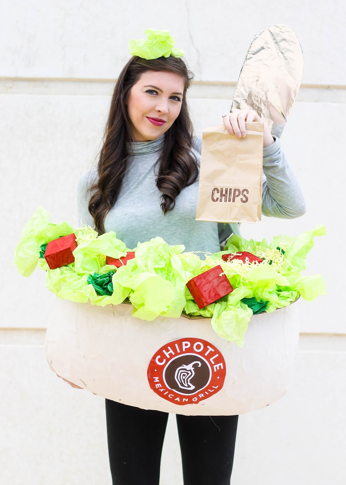 Halloween Chipotle Costume DIY