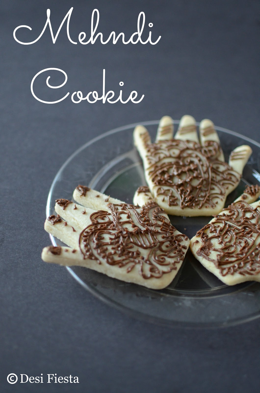 Henna inspired cookie