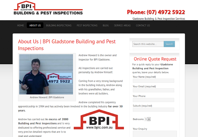 trusted building and pest inspection experts in Gladstone