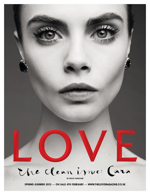 Cara Delevingne on the Cover of Love Magazine #9