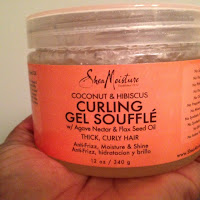 My natural hair loves Shea Moisture's Curling Gel Souffle'