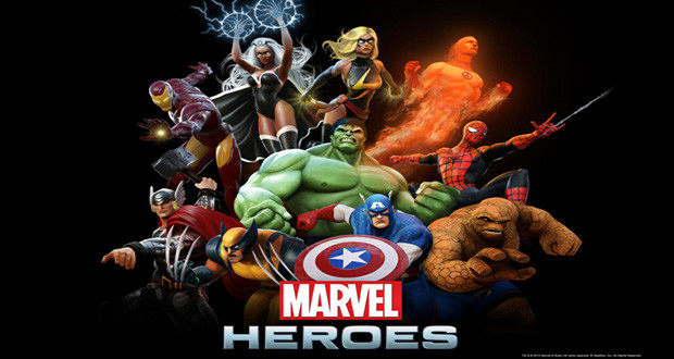 Marvel Comics Superheros