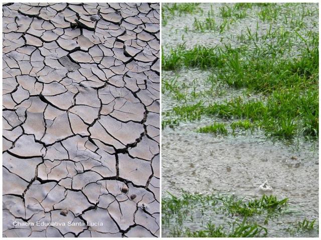 Sequía - Lluvias - Chacra Educativa Santa Lucía