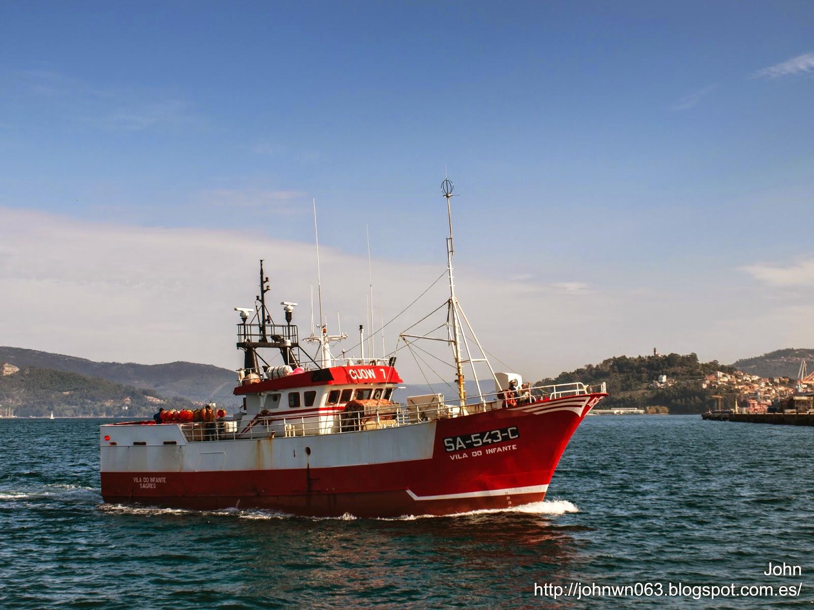 fotos de barcos, imagenes de barcos, vila do infante, pesquero, vigo