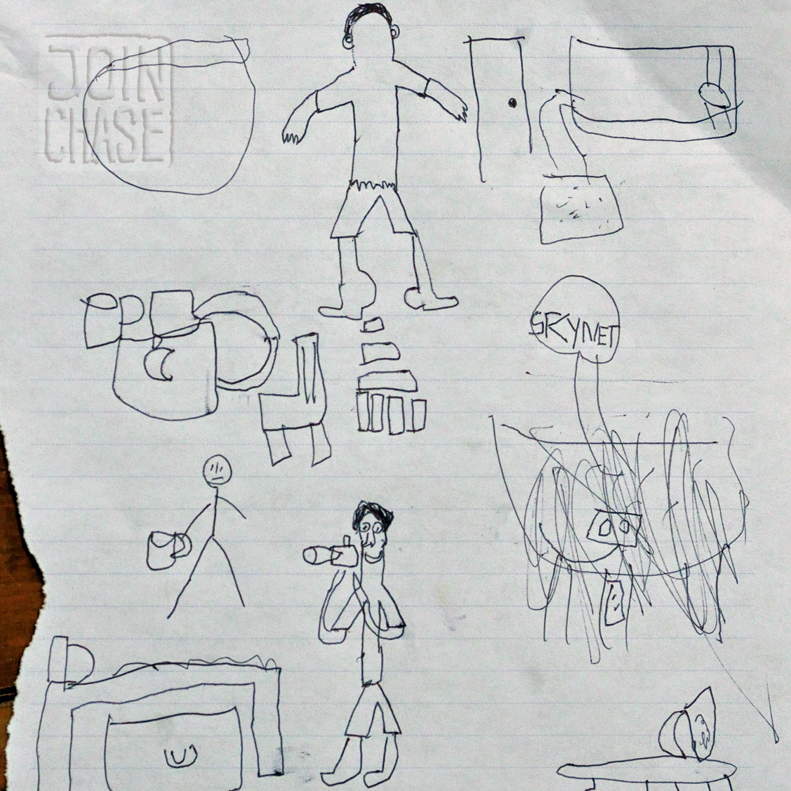 A drawing by a child in Yangon, Myanmar.