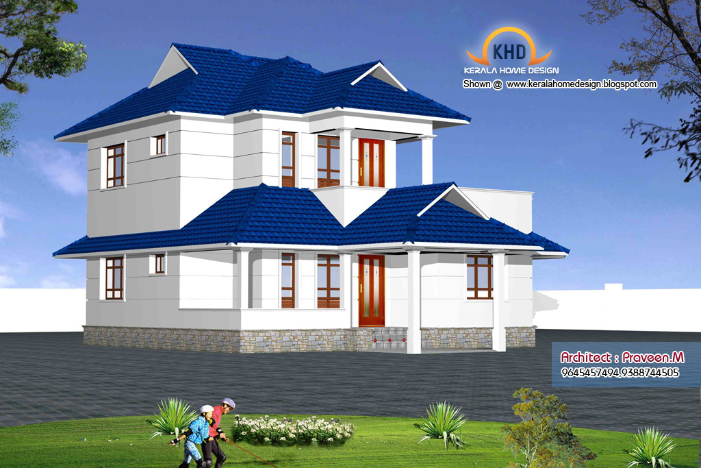 Latest Home Design: Home plan and elevation