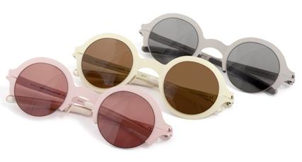 Mykita x Alexandre Herchcovitch sunglasses for SS 2012: Golda, Regina and Golda