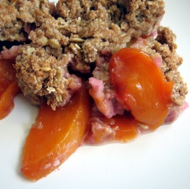 nectarine cobbler