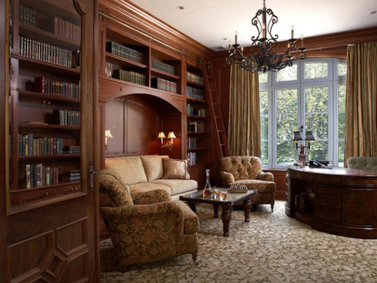 Landfair on furniture home libraries that ignite the imagination