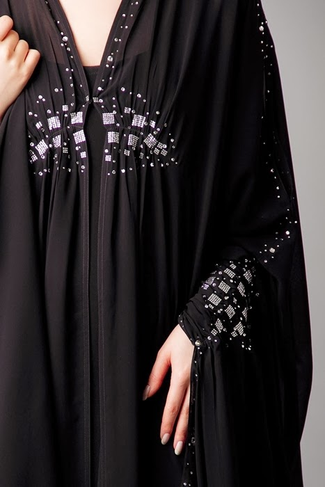 Fancy Abaya From Uae Dubai Abaya Designs For 2014 15 New Emirate Abaya Trend