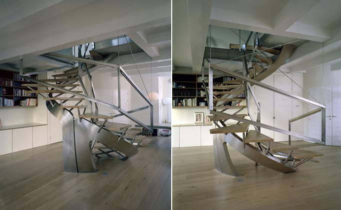 15 unique staircases and unusual staircase designs - part 4.