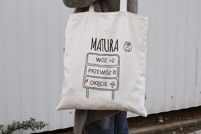 Torba z uszami,Matura 2015,  Zaprojektuj torbę