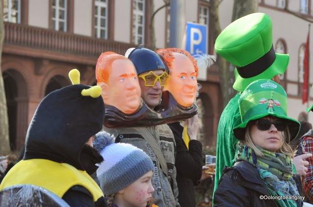 Characters of Fasching, Wiesbaden, Germany 2015