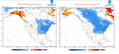 model has been showing forecasts depicting a cold Eastern US winter