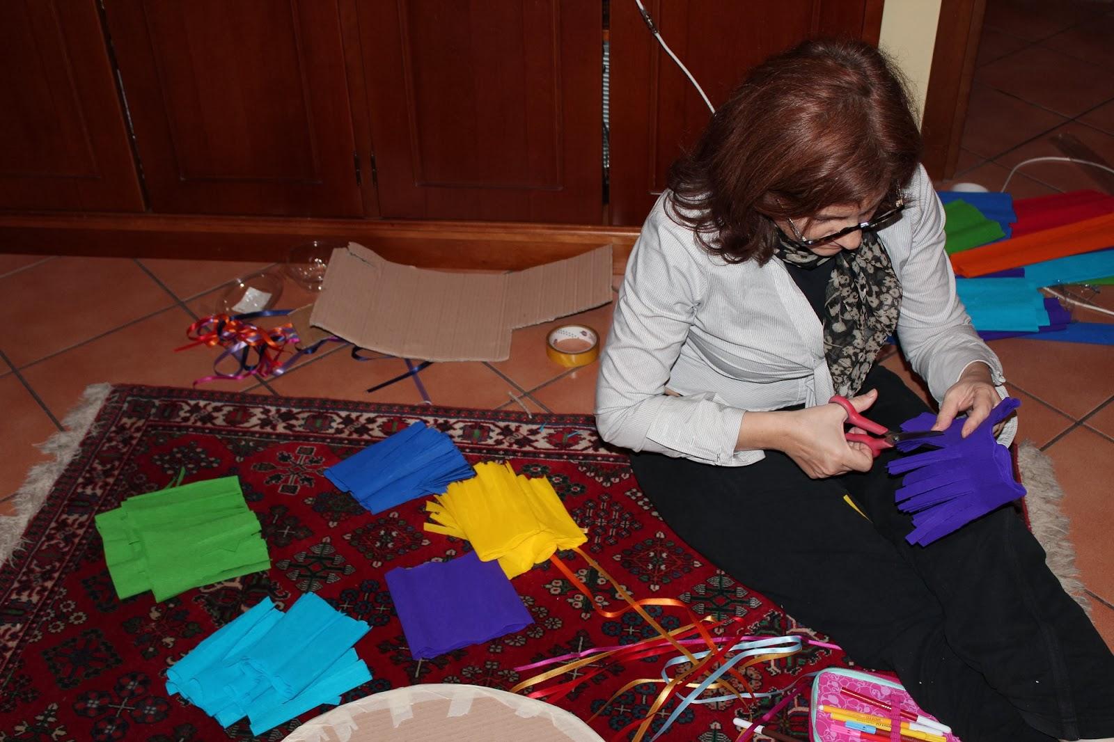 Le leccornie di Danita: Pignatta arcobaleno: come costruirla
