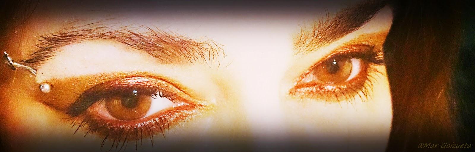 Mira, mis ojos cambian de color. Foto Mar Goizueta
