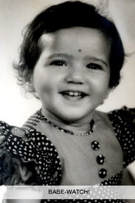 Preity Zinta Childhood Pictures