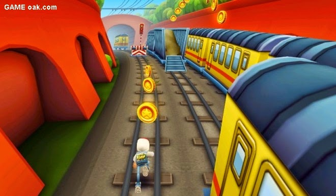 Subway Surfers Game for Android Mobile Phones