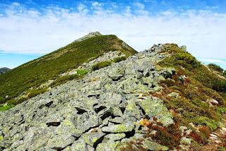 Teverga, ascensión al pico Ferreirúa, vista del pico