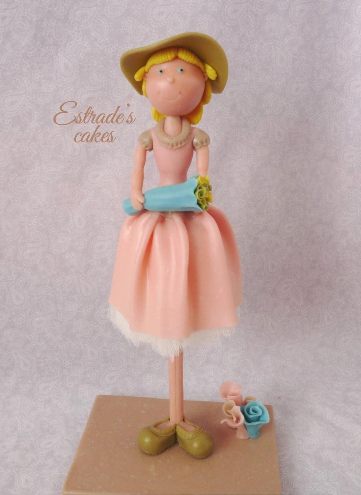 muñeca alta vintage en porcelana fria-1