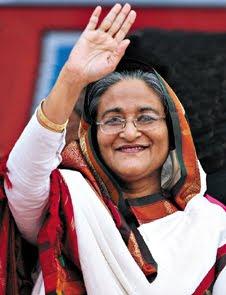 Sheik Hasina Wajed Muhammad Yunus grameen bank bangladesh