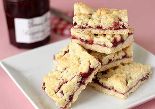 The Galley Gourmet: Raspberry Crumb Bars