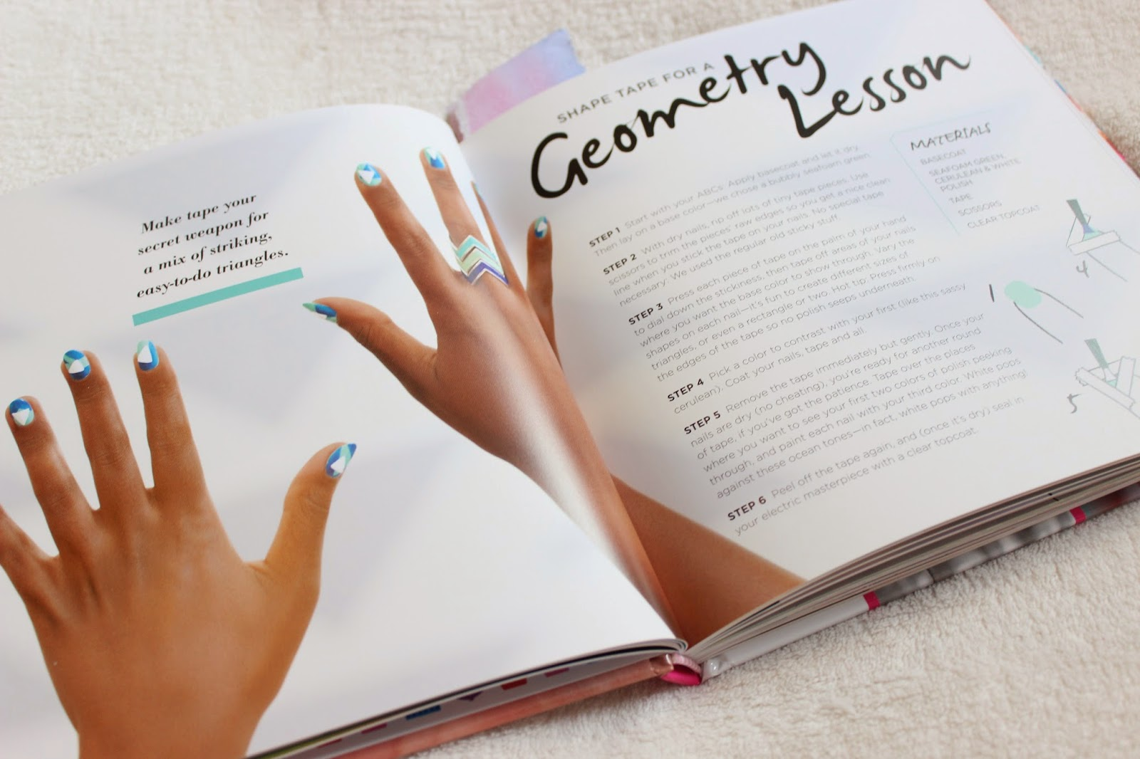 Masquerade Belle: Geometry Lesson Nail Art