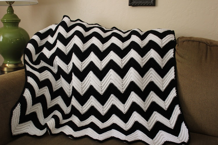 Pin Chevron Crochet Pattern Chart on Pinterest