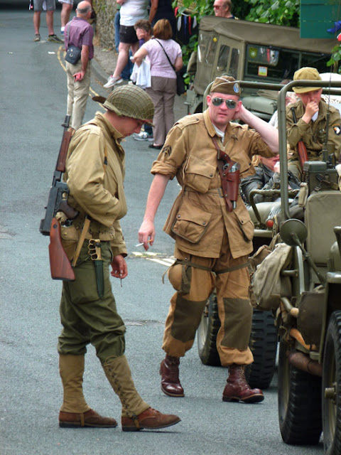 GIs, Ingleton, 1940s weekend