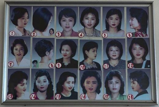 Nordkorea frisyrer