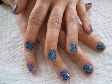 Zoe Nails Nail Art In Delhi Insight How To Do Nail Art At Home