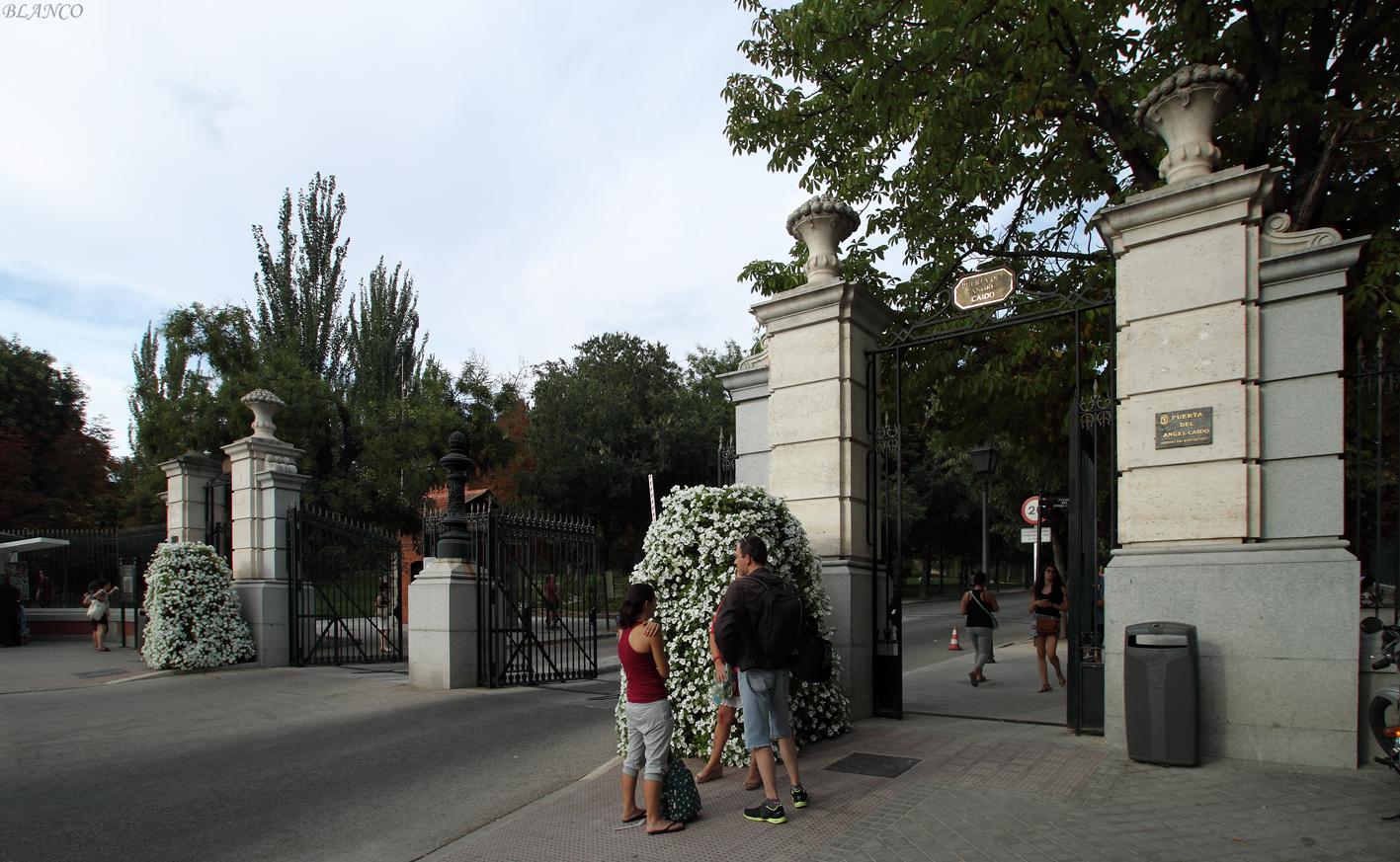 Madrid en foto parque del retiro zona de la puerta del - Inem puerta del angel ...