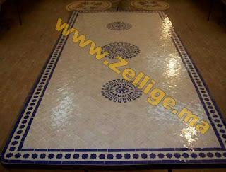 f vrier 2012 tables en zellige marocain tables zellij moroccan. Black Bedroom Furniture Sets. Home Design Ideas