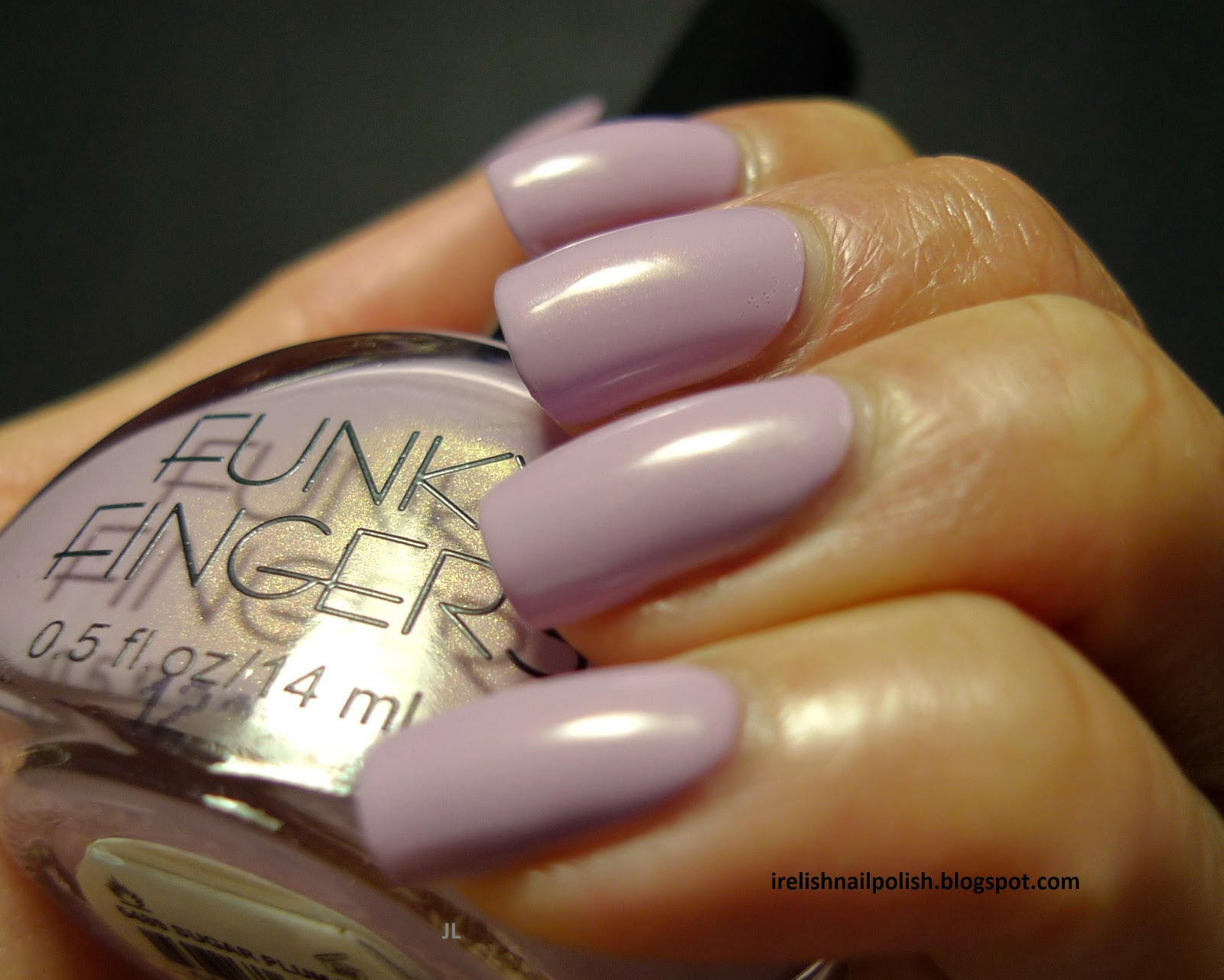 I Relish Nail Polish!: NO H8 - Funky Fingers - Sugar Plum Fairy
