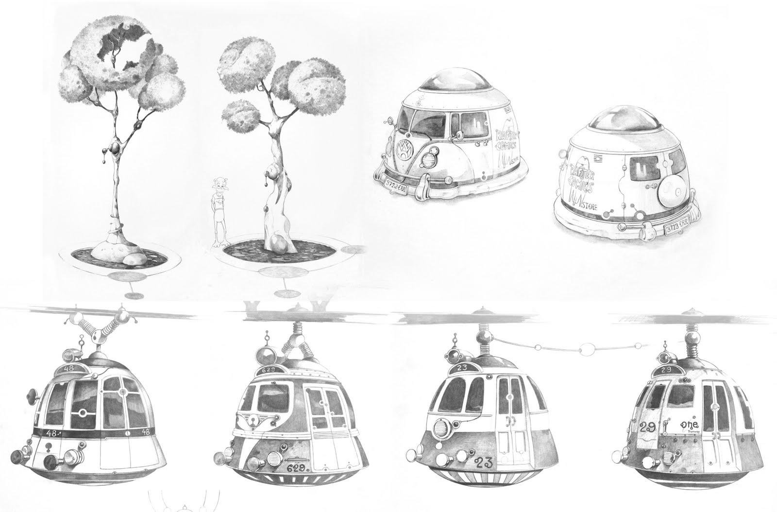 nine planets drawing - photo #41
