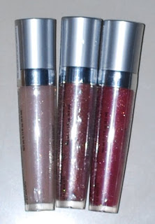 Diamond Shine Lip glosses by L.A. Colors (three)