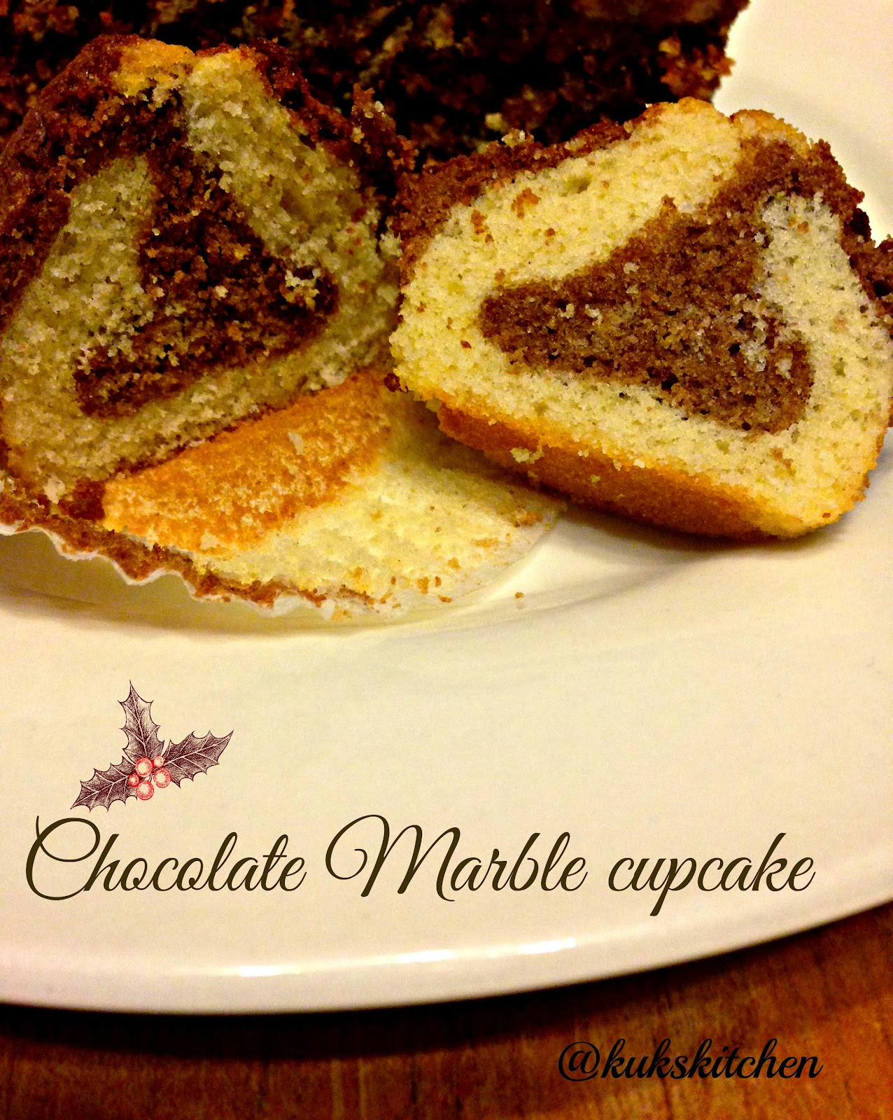 Chocolate Marble cake | Kukskitchen