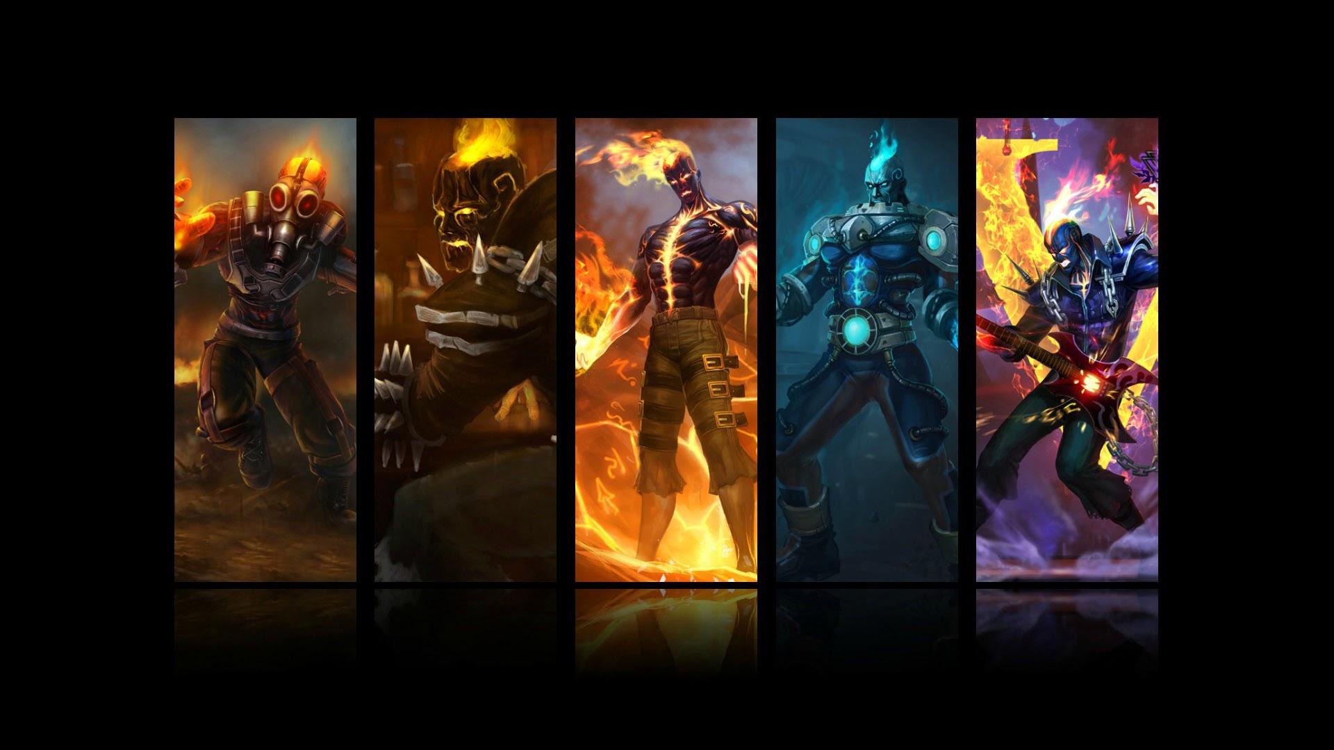 Brand All Skin League Of Legends 0i Wallpaper Hd