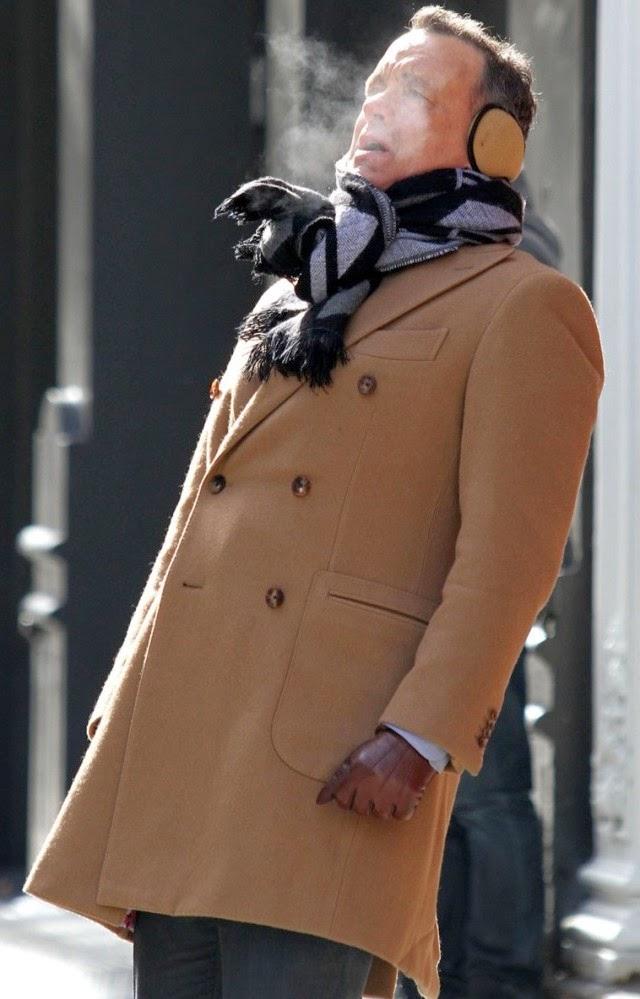 ¿Tanto frió tiene Tom Hanks?