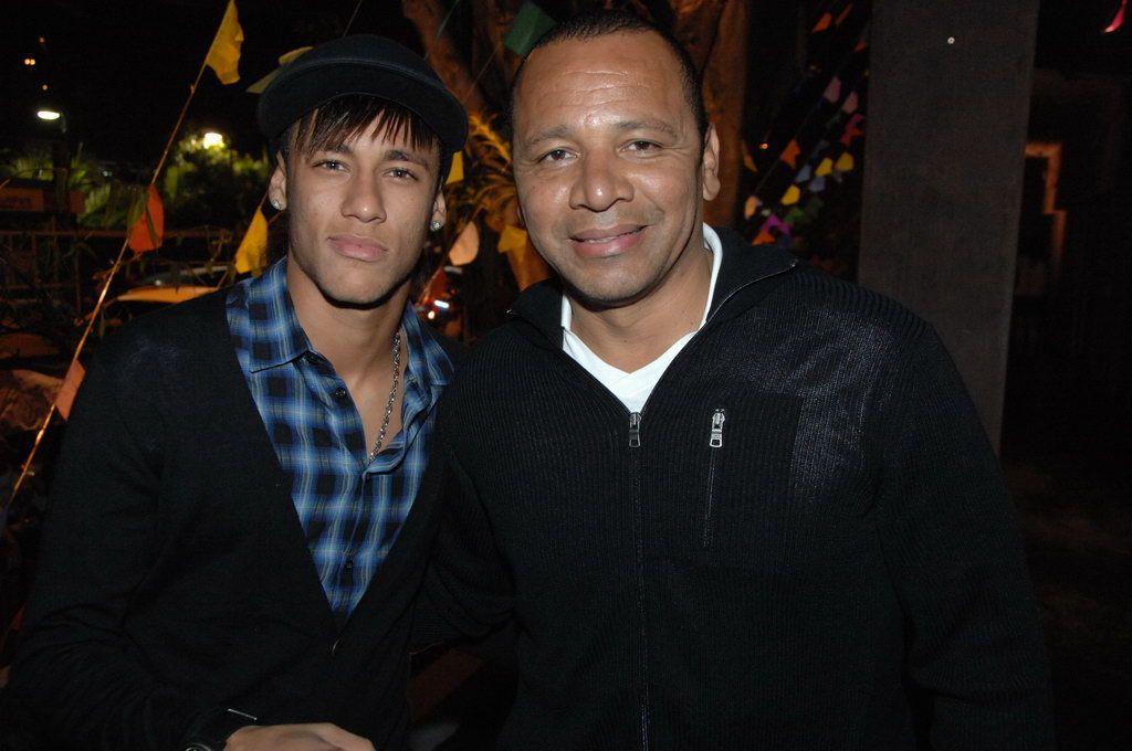 Neymar Jr e Neymar pai