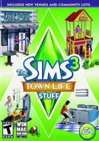 The Sims 3 Town Life Stuff full free pc games download +1000 unlimited version