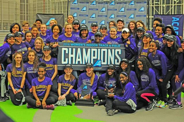 Indoor Track - Women 2015-16